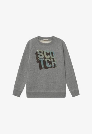 CREWNECK WITH ARTWORK - Sweater - grey