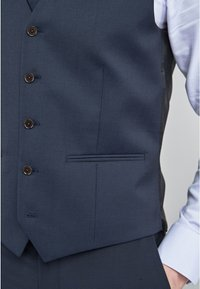 Next - SIGNATURE PLAIN SUIT: WAISTCOAT - Gilet elegante - dark blue - 3