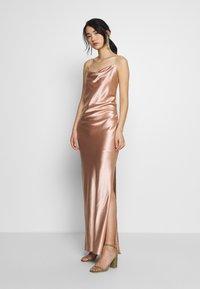 Samsøe Samsøe - APPLES DRESS - Společenské šaty - misty rose - 0