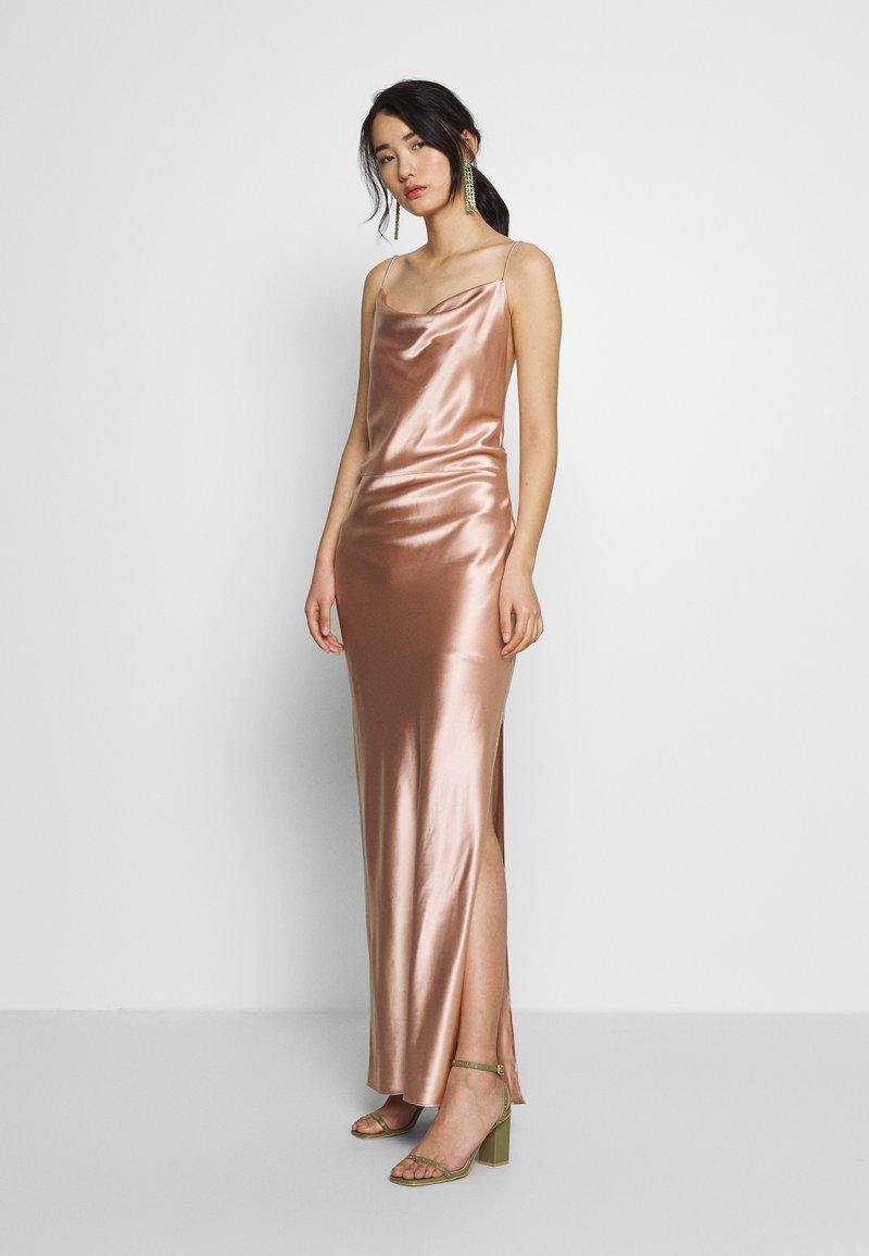 Samsøe Samsøe - APPLES DRESS - Společenské šaty - misty rose