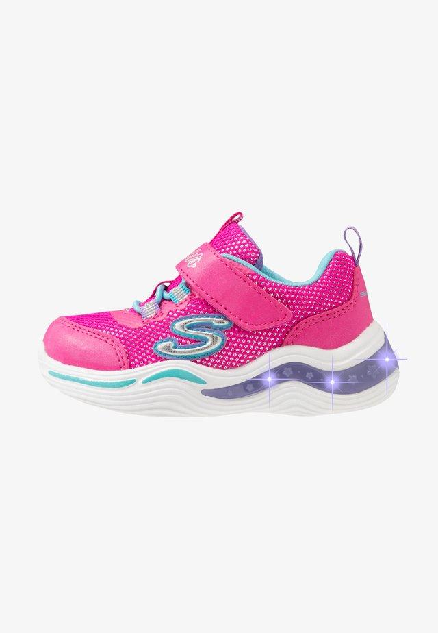 POWER PETALS - Sneaker low - neon pink/multicolor
