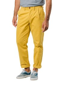Brava Fabrics - NARCISO PLEATED - Chinos - yellow - 4