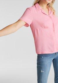edc by Esprit - Button-down blouse - pink - 3