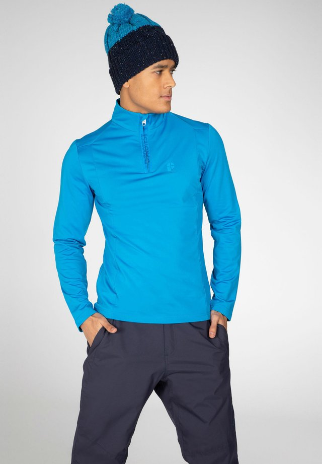 Long sleeved top - marlin blue