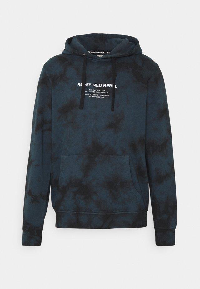 UNISEX - Jersey con capucha - dark denim