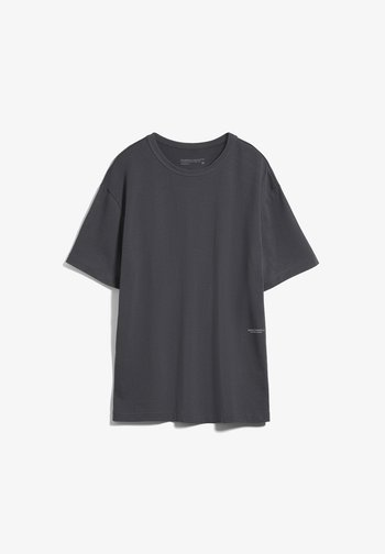 AALEX - Basic T-shirt - acid black