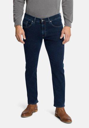 5-POCKET- ERIC - Straight leg jeans - blue/black stonewash