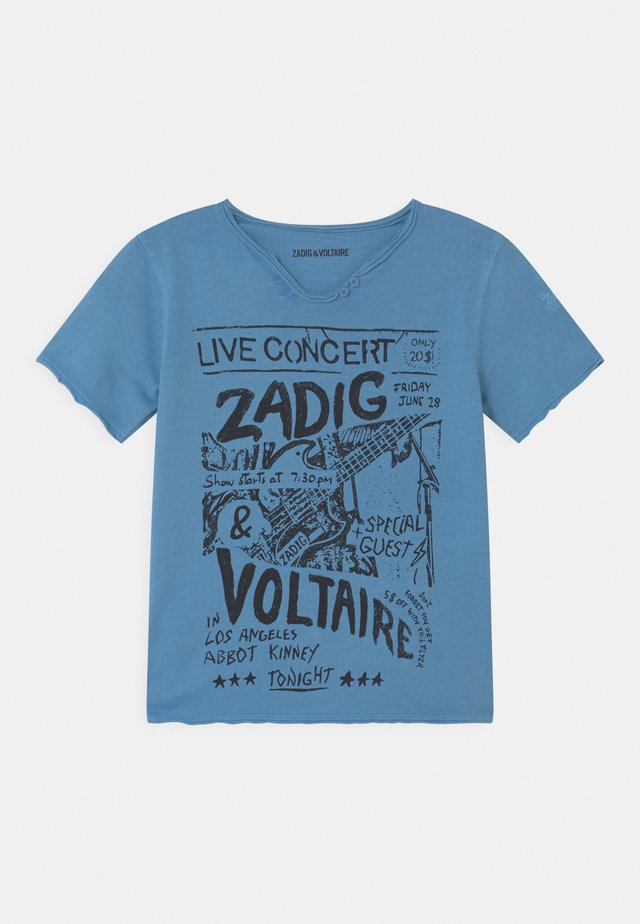 SHORT SLEEVES - T-Shirt print - bleu marin