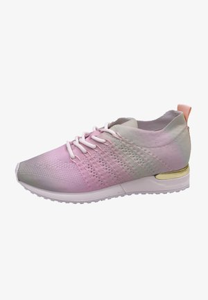 Trainers - pink/green tiedye