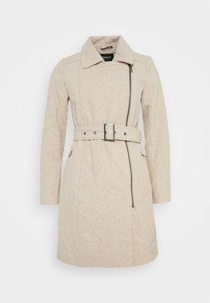 ONLOLIVIA LONG BIKER COAT - Classic coat - chateau gray