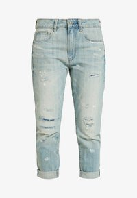 G-Star - 3301 MID BOYFRIEND WMN NEW - Džíny Relaxed Fit - 3d 50 years worn - 3