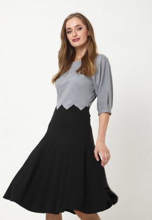 ERGO - Cocktail dress / Party dress - grau, schwarz