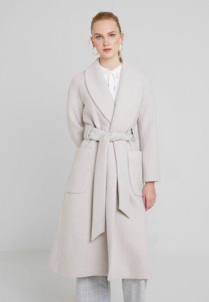 COSY BATHROBE COAT - Classic coat - birch