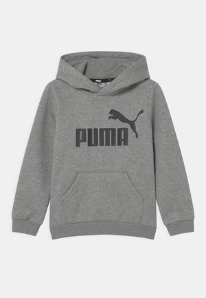 BIG LOGO HOODIE UNISEX - Sweatshirt - medium gray heather