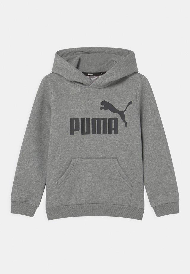 BIG LOGO HOODIE UNISEX - Sweatshirt - medium gray heather