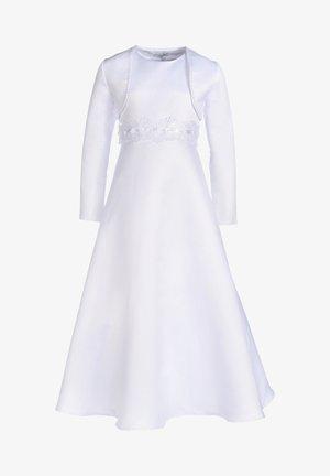 MIT SPITZENBAND - Vestido de cóctel - white