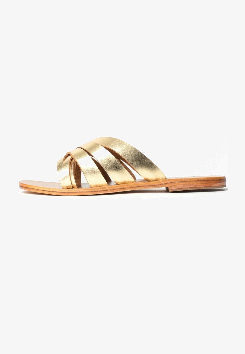 Les Bagatelles - MARICA - Mules - gold
