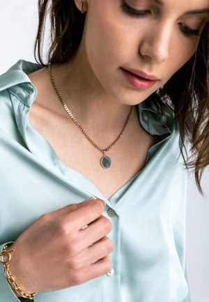 Fine Curb - Necklace - gold