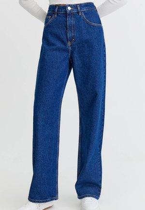 Džíny Straight Fit - dark-blue denim