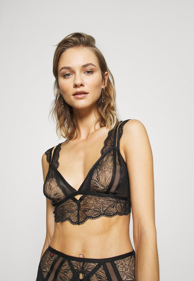 THE ADMIRER BRALETTE  - Top - black