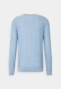 Selected Homme - SLHBUDDY CREW NECK - Jumper - skyway - 6