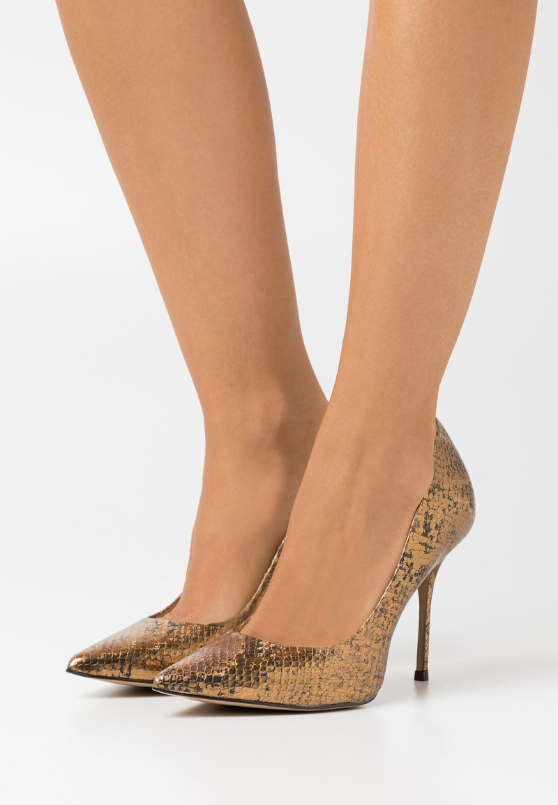 San Marina - GALICIA BIUTA - High heels - camel/or