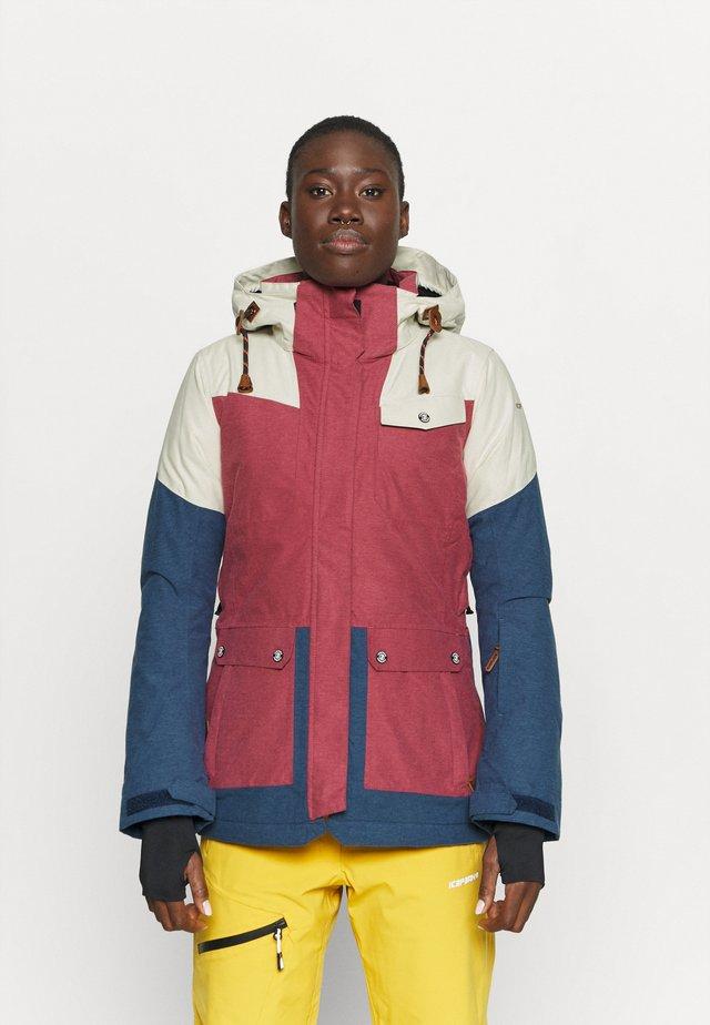 CHOLET - Ski jas - burgundy