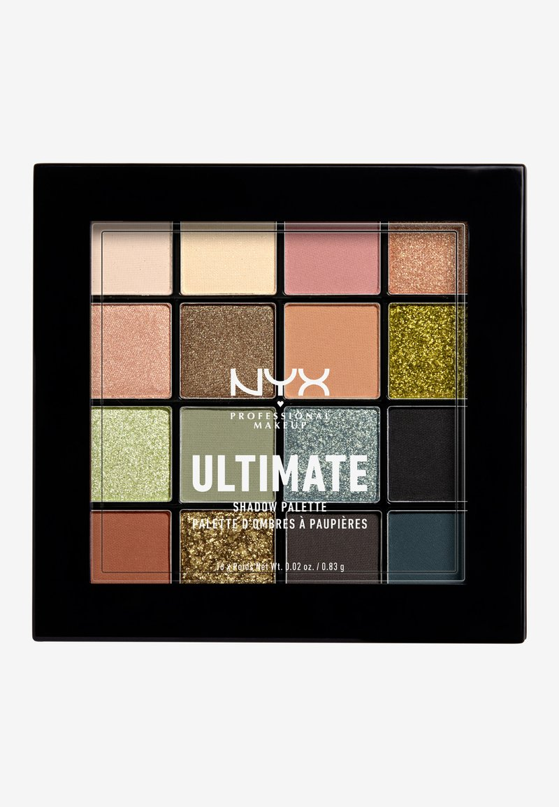 Nyx Professional Makeup - ULTIMATE SHADOW PALETTE - Eyeshadow palette - utopia 16