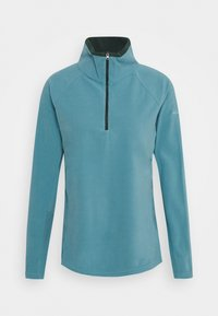 Columbia - GLACIAL 1/2 ZIP - Fleece jumper - canyon blue/spruce - 0