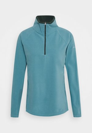GLACIAL 1/2 ZIP - Felpa in pile - canyon blue/spruce
