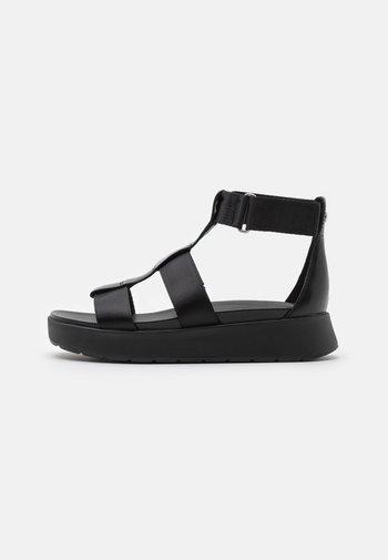EEBA - Platform sandals - black