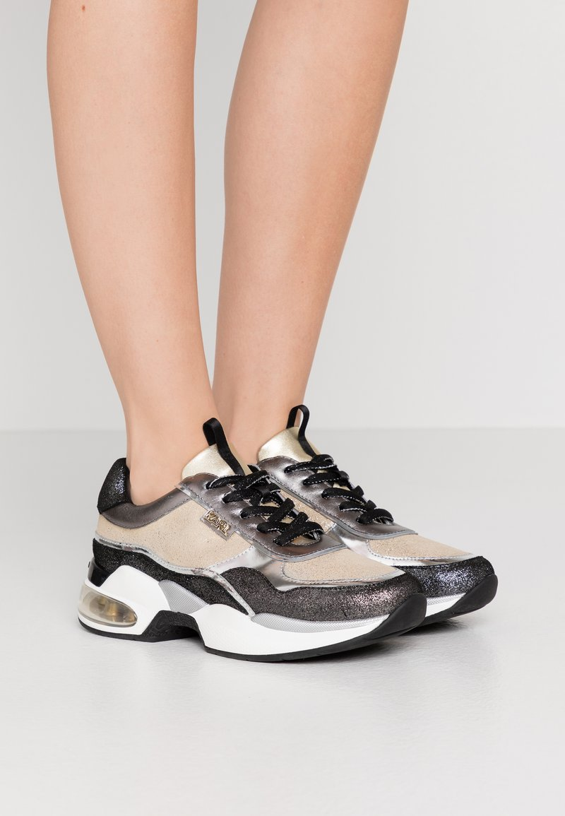 KARL LAGERFELD - LAZARE - Trainers - gold/silver