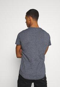 Tommy Jeans - SLIM JASPE C NECK - Basic T-shirt - twilight navy - 2