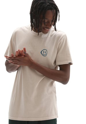 MN HAVE A TRIP SS - Print T-shirt - oatmeal