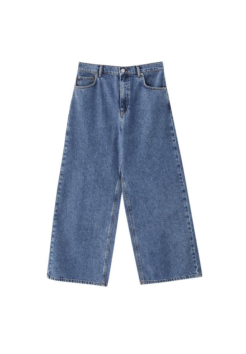 PULL&BEAR - Jeansy Straight Leg - blue