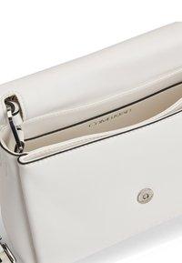 Calvin Klein - FLAP SHOULDER BAG - Handbag - white - 4