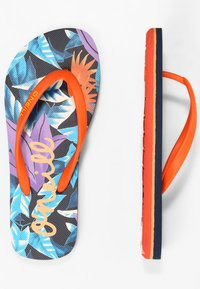 O'Neill - MOYA  - T-bar sandals - blue with pink or purple - 3