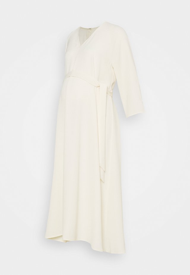 SCAROLA - Maxi dress - almond milk