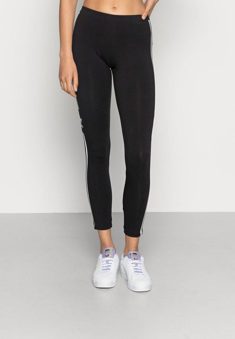 adidas Originals - TREFOIL ORIGINALS ADICOLOR LEGGINGS COMPRESSION - Leggings - black