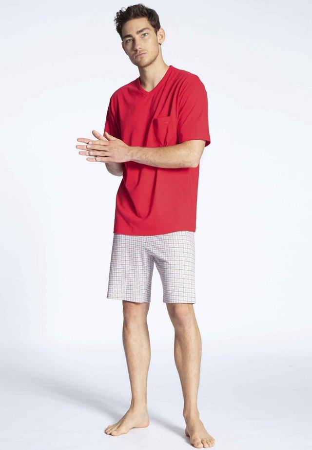 Pyjama set - tango red