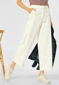 Cecil - LOOSE FIT  - Trousers - beige - 0