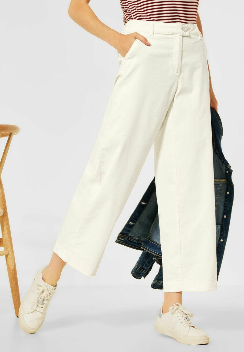 Cecil - LOOSE FIT  - Trousers - beige