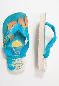 Havaianas - MINIONS - Pool shoes - beige/turquoise - 0