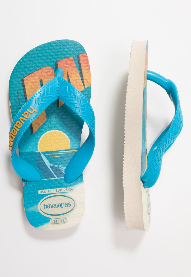Havaianas - MINIONS - Pool shoes - beige/turquoise