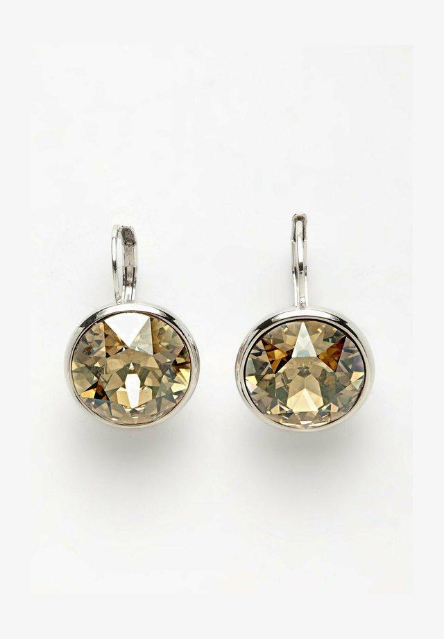AVANT-GARDE PARIS PIERCED EARRING CRYSTALLIZED WITH AUSTRIAN SWAROVSKI ELEMENT - Earrings - gold