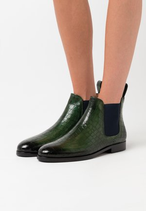 SUSAN - Ankle boots - prato/navy