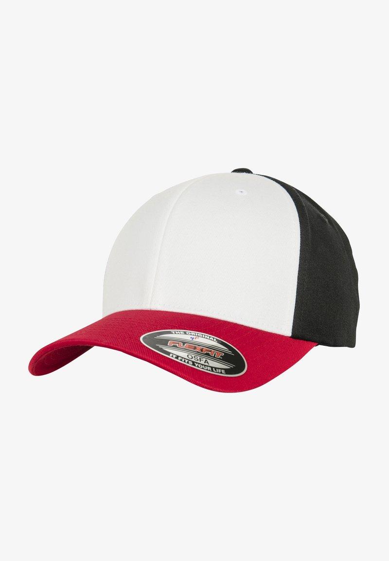 Flexfit - Cap - red/white/black