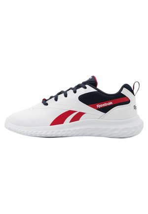 RUSH RUNNER 3.0 UNISEX - Hardloopschoenen neutraal - white/night navy/vector red
