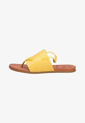 Fashion  - Mules - yellow