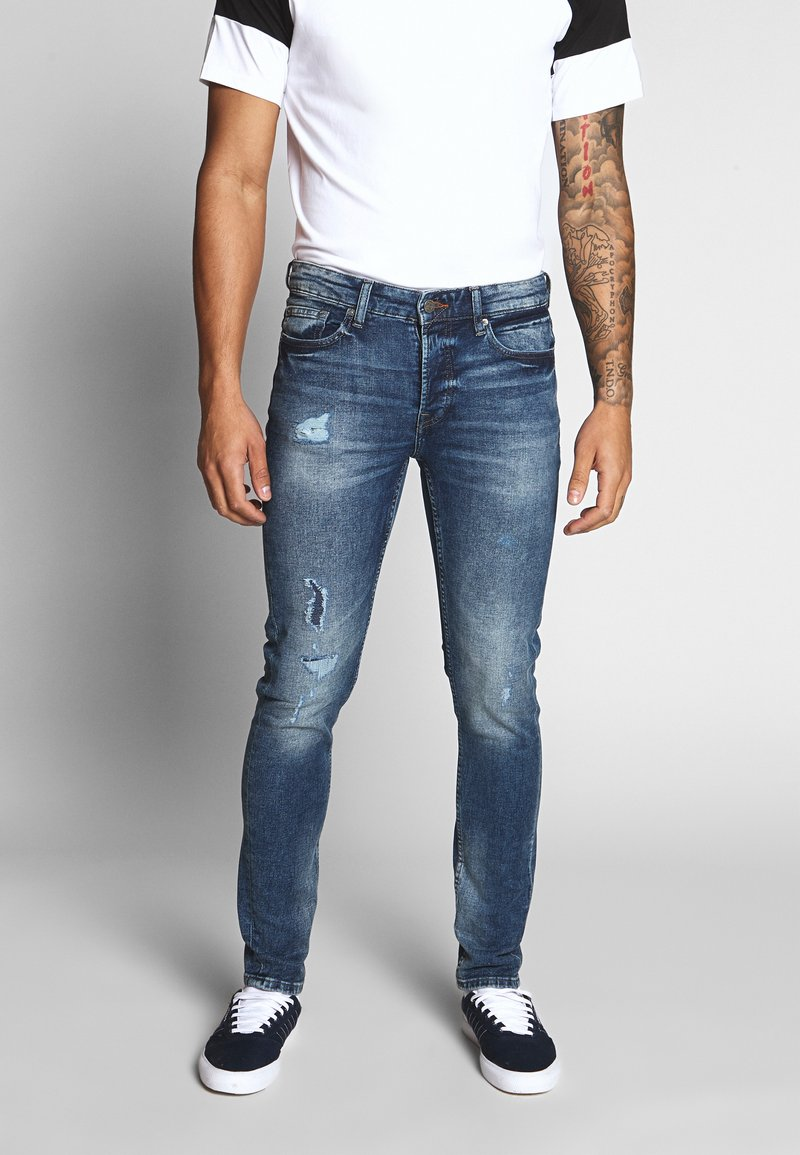 Only & Sons - ONSLOOM - Jeans Tapered Fit - blue denim